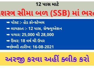 Recruitment for 115 Head Constable in Sashatra Seema Bal (SSB)